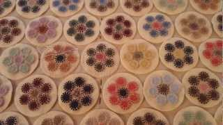 Penny Rug Tutorial - Part 4 - YouTube