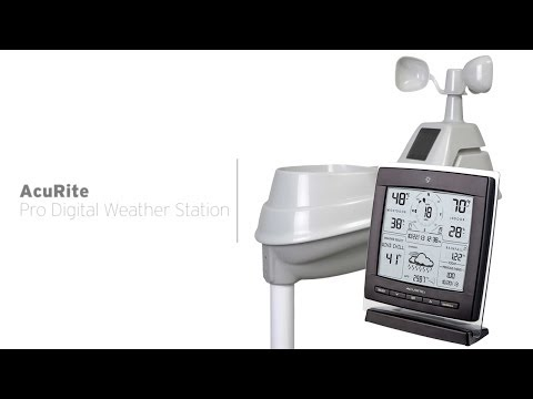 AcuRite Professional Digital Weather Station 01524