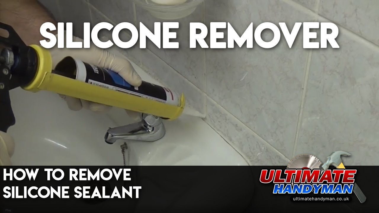 how to remove silicone sealant youtube. Black Bedroom Furniture Sets. Home Design Ideas