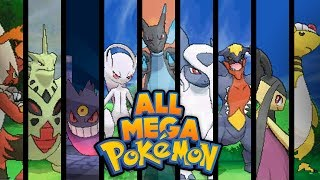 Pokemon X And Y ALL MEGA EVOLUTIONS!