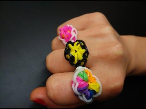 Пръстен Избухваща Звезда - Starburst Ring [Loom] - силиконови ластици
