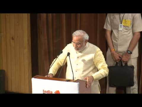 Shri Narendra Modi addressing International Conference on Indian Economy in Delhi HD