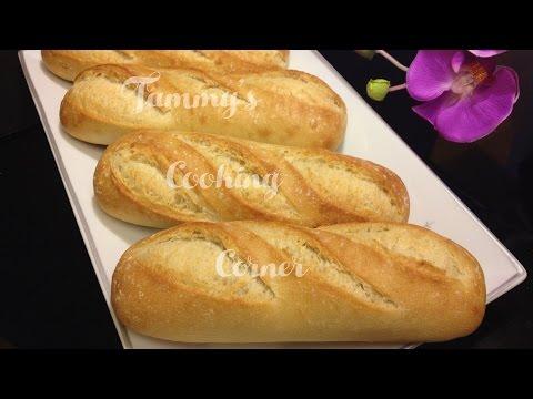 BANH MI  - VIETNAMESE BAGUETTE RECIPE (Cách Làm Bánh Mì)