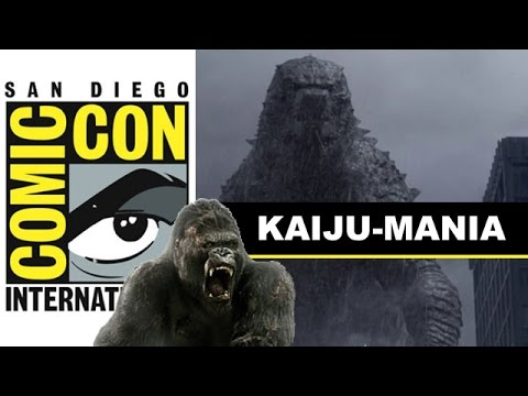 Comic Con 2014 - Godzilla 2 and Skull Island aka King Kong from Legendary : Beyond The Trailer