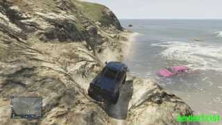 GTA V Online Truck Mudding In The Marshes