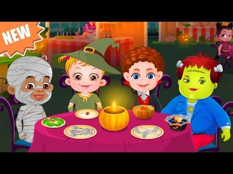 Baby Hazel Game Movie - Baby Hazel Halloween Night - Dora the Explorer