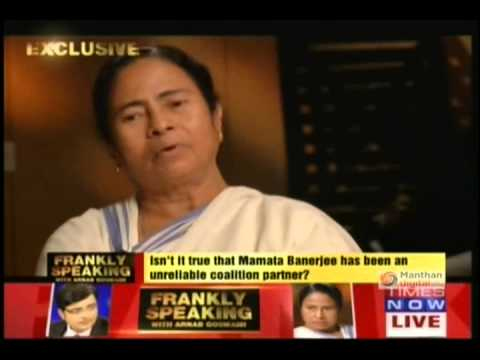 Mamata Banerjee's interview with Times Now