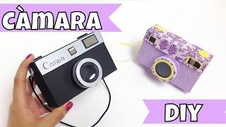 Cajita-joyero en forma de cámara