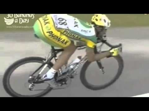 100kph at the Tour De France Risking life to save mere seconds.