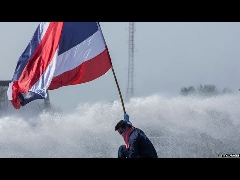 THAILAND PROTESTS: MORNING AFTER THE NIGHT BEFORE - BBC NEWS
