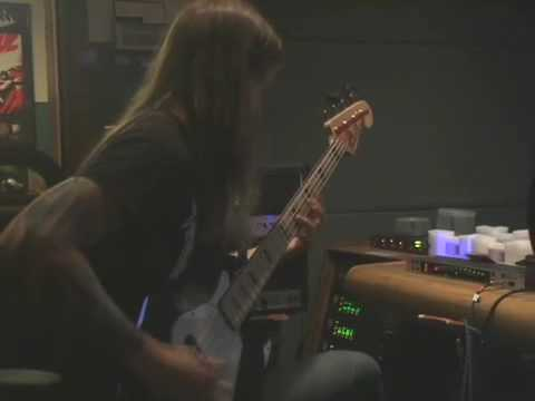 "SKELETONWITCH ""Breathing The Fire"" studio vlog #4 (bass)"