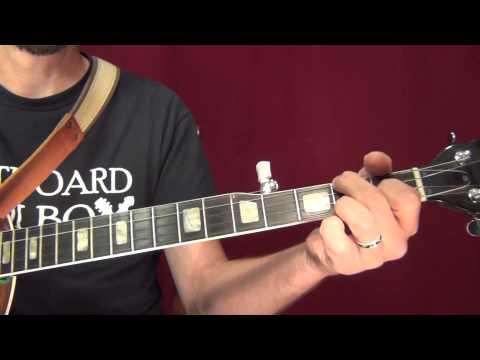 Some C Major Chord Progressions for Banjo