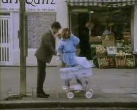 Mr Bean On Bus Stop Youtube