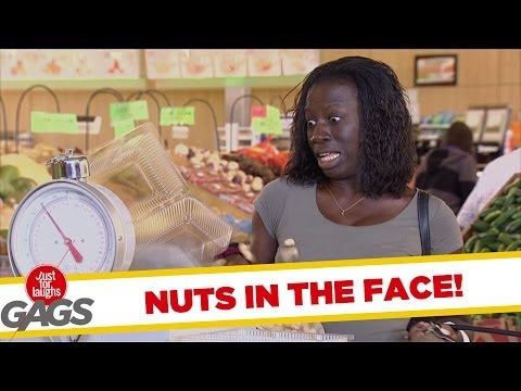 Nuts in the Face Prank!!