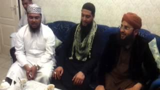 Agtar Noorani with Sajid Qadri aye Rasool e ameen