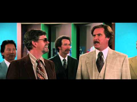 "ANCHORMAN 2 - ""Don't Speak Australian"" Clip"