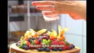 Chocolate � ingrediente indispens�vel nas receitas de Natal; aprenda a preparar uma