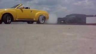 Chevy SSR Burnout