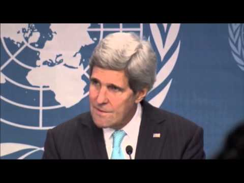 Sec. Kerry Talks Tough to Syria at UN Meeting