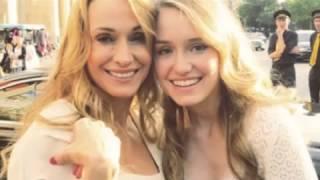 Chloe, la figliastra di Carlo Ancelotti sogna Hollywood