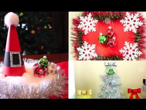 Christmas DIY Room Decorations! - DIY Karácsonyi díszek készítése