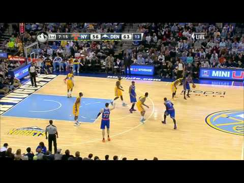 Andrea Bargnani @ Denver Nuggets / Nov. 29th, 2013