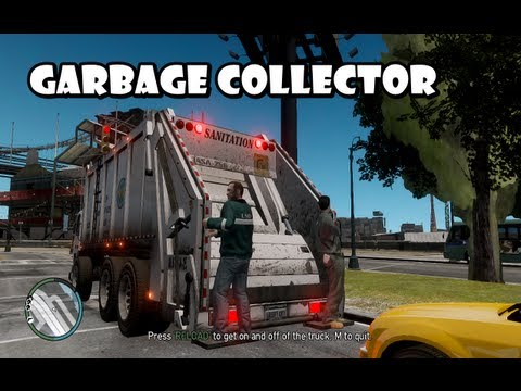 GTA IV - Business Mod : Garbage Collector