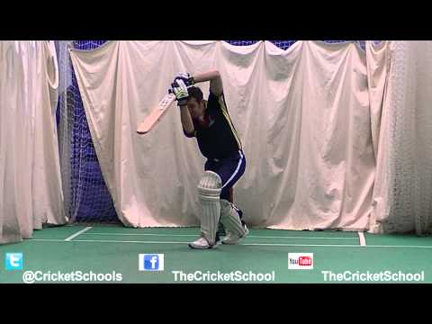 How to Play Cricket Shots-Sachin Tendulkar Like Cover Drives Batting Tutorial