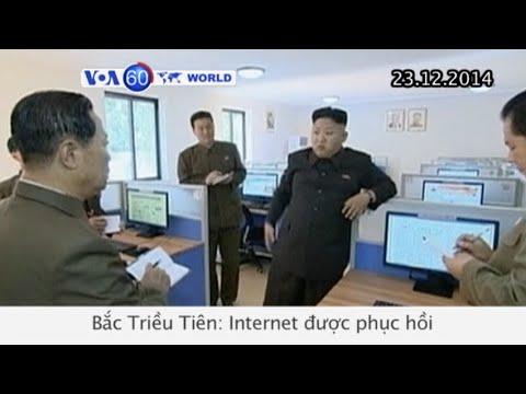 Internet ở Bắc Triều Tiên được phục hồi (VOA60)