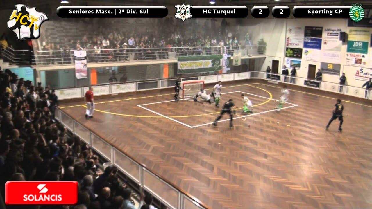 Hoquei Patins :: Turquel - 3 x Sporting - 5 de 2011/2012 II Divisão Zona Sul