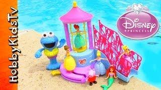 Disney Princess Water Palace Playset, Peppa Pig, Cookie