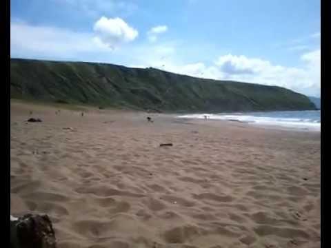 Playa Barinatxe (La salvaje) Sopelana- Bizkaia - nudista