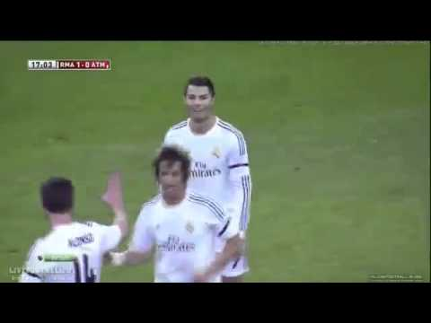 Goal Pepe Real Madrid 1-0 Atletico Madrid