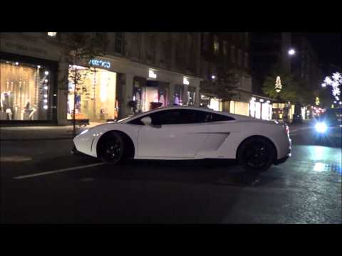 Supercars of London 2013 - November Part 1 - Zonda Cinque, Gold Veyron, Aventadors and more!