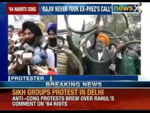 SAD blames Congress for shielding accused of 1984 riots - NewsX