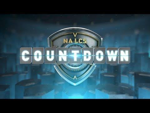 NA LCS COUNTDOWN - Week 9 Day 2 (Summer 2018)