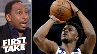 Stephen A.: Adding Jimmy Butler isn't enough for Rockets to beat Warriors | First Take