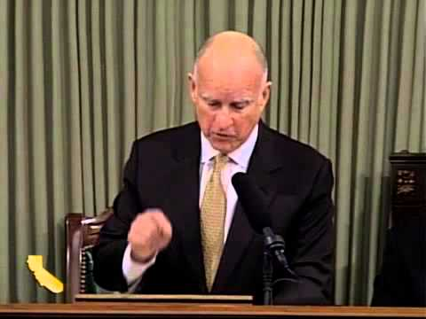 Gov. Jerry Brown Delivers 2014 State Of The State Address