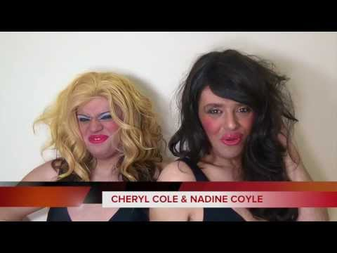 Cheryl Cole & Nadine - News Flash Live From Sochi Jail - Queens of Pop