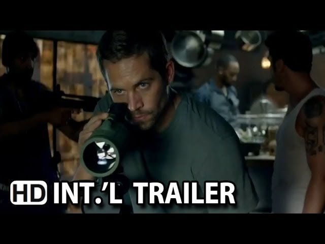 Brick Mansions Official International Trailer #1 (2014) - Paul Walker Action Movie HD