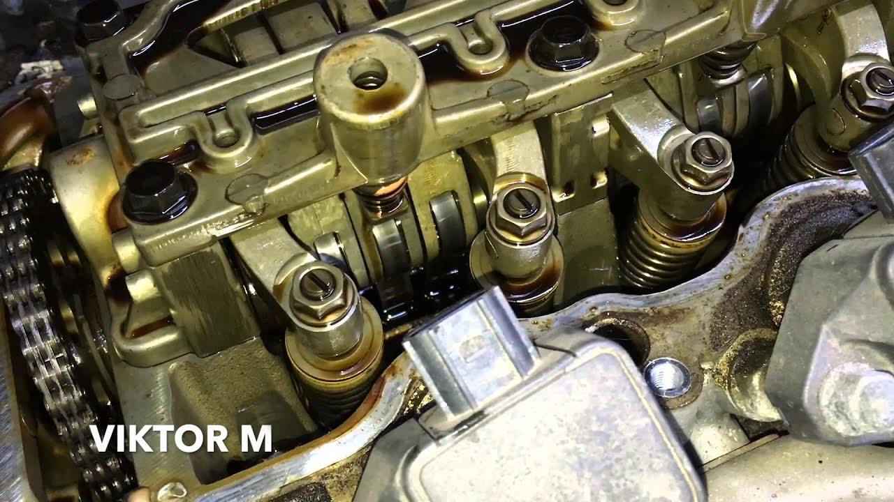 Ремонт двигателя b20b своими руками