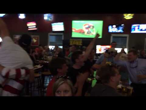 Reaction World Cup 2014 USA John Brooks 86' goal vs Ghana 2-1