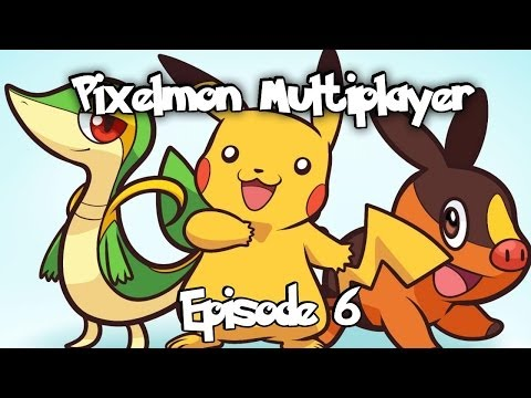 Minecraft Pixelmon Multiplayer - Episode 6: 21 Diamond Mining Trip and Flaming Buttox