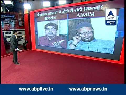 LIVE Debate:Shiv Sena MPs forced Muslim staffer to break fast?