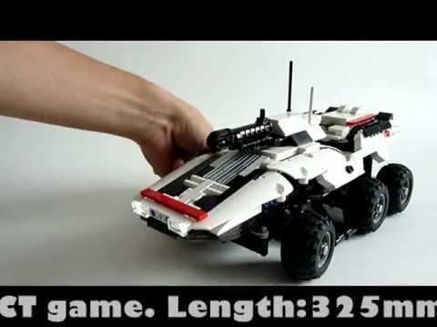 Радиоуправляемая модель M35 MAKO из Lego