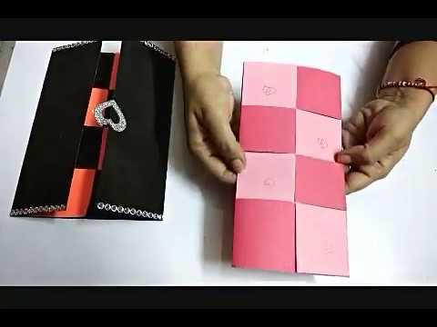 DIY:  disappearing message card| happy birthday card