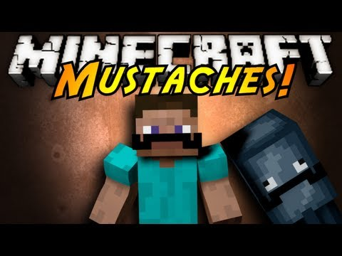 Minecraft Mod Showcase : MUSTACHES!, EVER WANNA FEEL FANCY? LIKE AN INTELLECTUAL? GRAB YOUR MUSTACHE! FROM IRON MUSTACHES TO DIAMOND TO EVEN BUTTER! Download the mod here! (Tell em Sky sent ya!)...