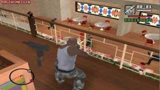 GTA San Andreas Mission #84 Saint Mark's Bistro (HD