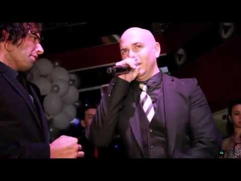 Pitbull's Birthday Party with Ana Carolina Da Fonseca, Omega, El Cata, Sammy Sosa, more