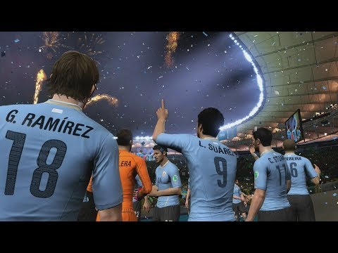 2014 FIFA World Cup Brazil: Uruguay wins the World Cup! (HD Gameplay)